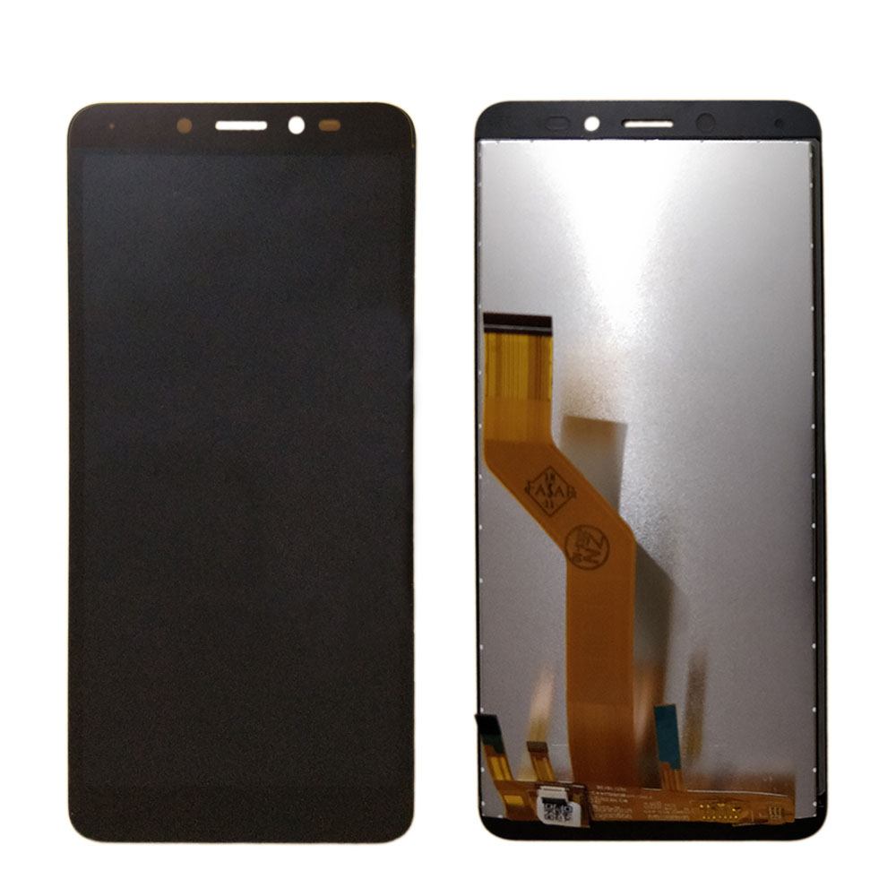 Black Replacement XIAOMIN LCD Screen and Digitizer Full Assembly for Wiko Sunny3 Plus Color : Black
