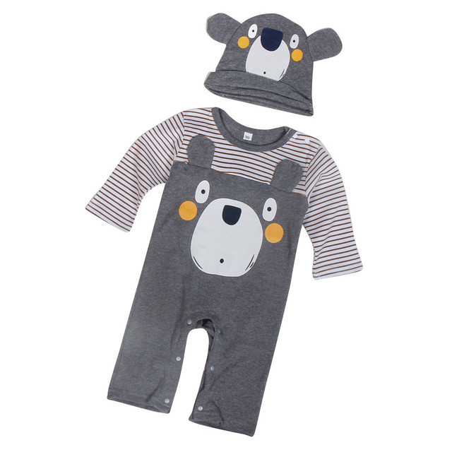c81a91f0a39a Baby clothes 2017 animal baby romper suits Cotton Infant Jumpsuit Long  Sleeve Baby Girl Clothing Jumpsuits overalls