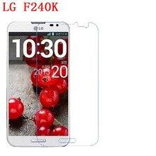 3 PCS HD telefone filme PE toque preservar a visão para LG E985t F240l F240K E988 Optimus G protetor de tela Pro com Limpar