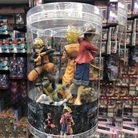 One Piece Luffy Solon Choba Action Figure Dragon Ball Son Goku Naruto Uzumaki Naruto Model Toy
