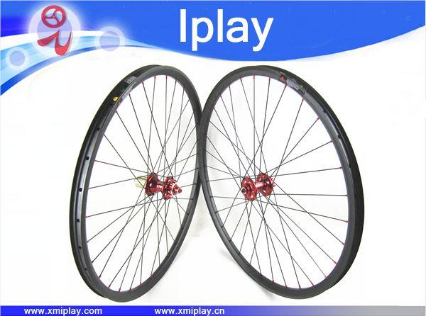 Fastace концентраторы 29 дюймовые колеса велосипеда 29 углерода MTB колеса Горный велосипед hookless бескамерные с дисковый тормоз Колесная Бесплатн
