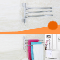 Stainless Steel Towel Holder Wall Mounted Bathroom Towel Rack Hanger Holder Bathroom Accessories 30cm 3 Arm