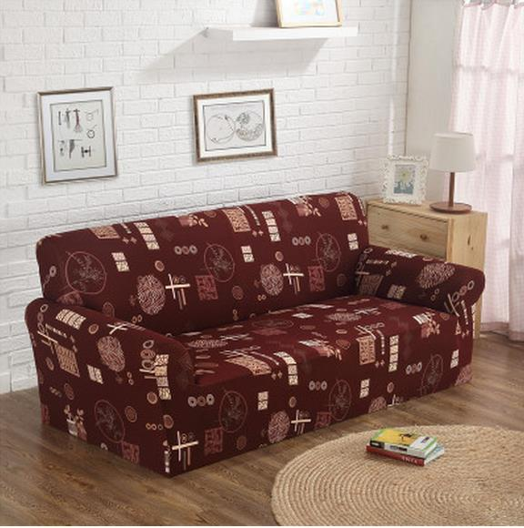 Buy Free shippin Contracted rural cloth leather sofa set  full package universal condom European three full cover pad combination