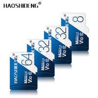 Tarjeta microSD de alta calidad de 128GB tarjeta microSD de 64GB 32GB tarjeta de memoria de 16GB 8GB tarjeta flash cartao de memoria mini sd/tf tarjeta venta al por mayor