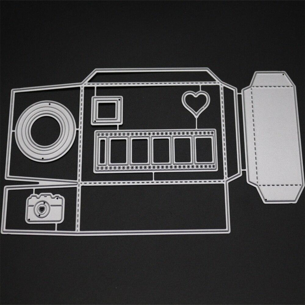 VCD50 TAPE CUTS SCRAPBOOK Metal Cutting Dies For Scrapbooking Stencils DIY Album Paper Cards Decoration Embossing Folder Die CUT in Cutting Dies from Home Garden