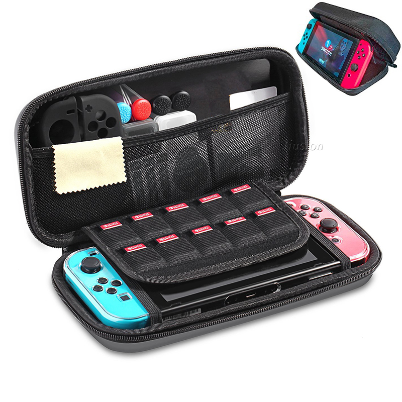 цена на For Nintend Switch EVA Protective Hard Case Shell Travel Carrying Storage Bag Holder Pouch NS Console Handbag Waterproof