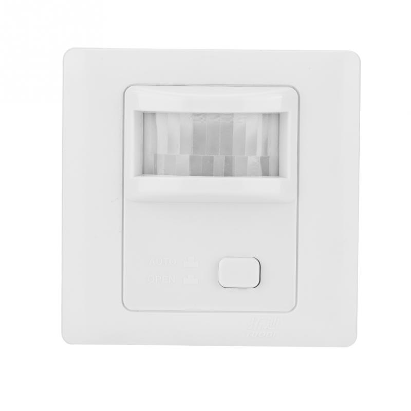 PIR Sensor Switch Automatic Infrared PIR Motion Sensor Human Induction Switch Light Control Ceiling Lamp Motion Sensor Detector two size ac110 220v adjustable led infrared pir motion sensor detector ceiling automatic pir sensor light switch free shipping