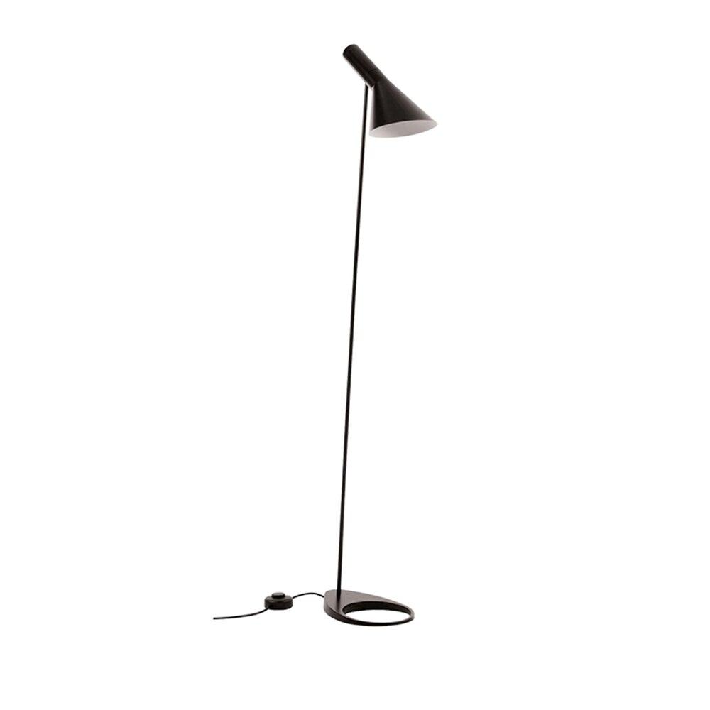 Post-modern Design Arne Jacobsen AJ Floor Lamp Black Metal Stand Light for Living Room Bedroom E 27 LED Bulb bedroom decor Салфетницы