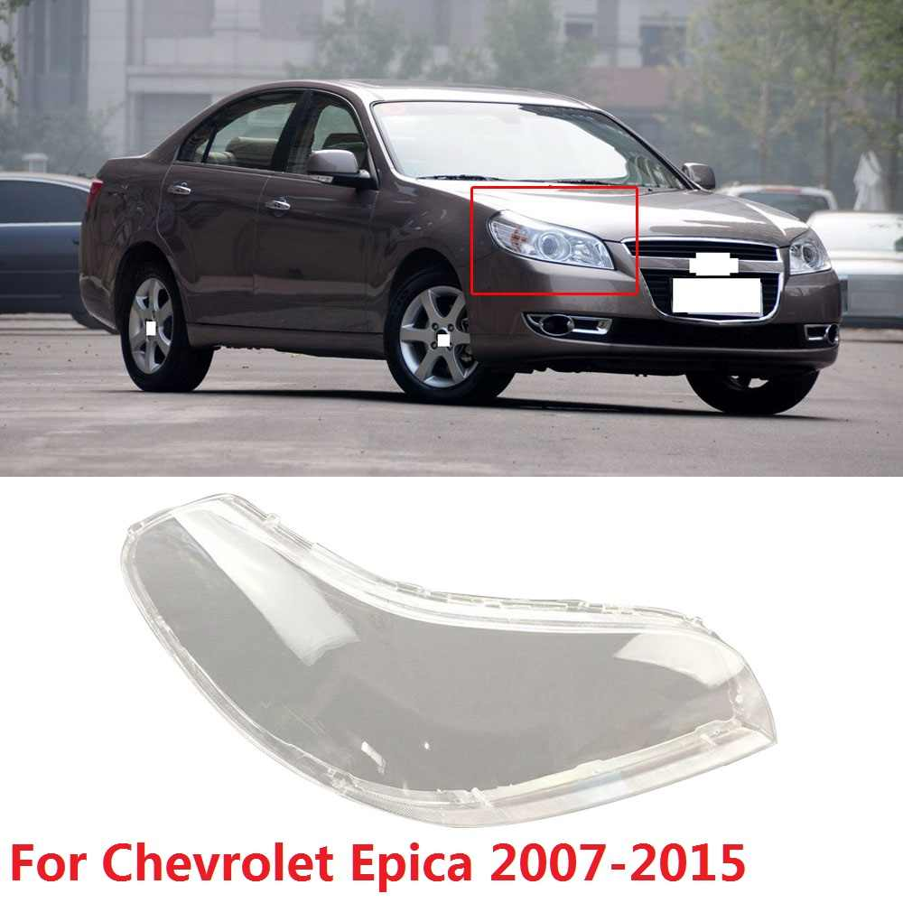 CAPQX 1PCS For Chevrolet Epica 2007-2015 Front Headlamp Headlight Lamp cover Lampshade Waterproof head light Shade Shell cap