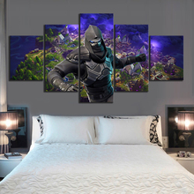 5 Piece GAMING Enforcer Poster on Canvas for Home Decor F5V3