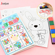 8pcs/lot Kids Toy Anime Drawing Set Cards Stickers Diy Coloring Books for Kids Water Drawing Book Diy Colorful Toys for Children