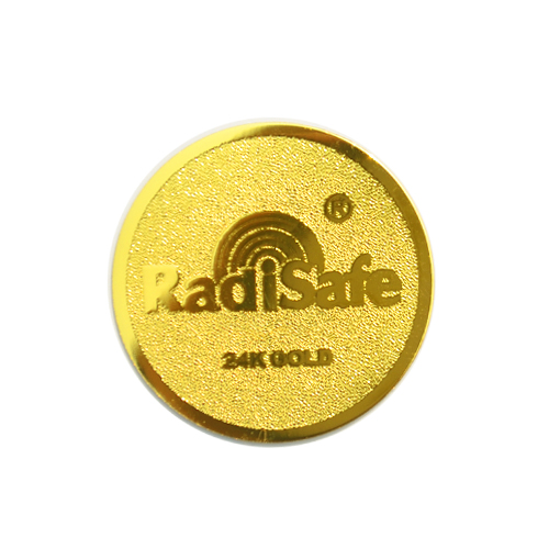 Image 2 - 24gold radisafe anti radiation sticker-in Phone Sticker & Back Flim from Cellphones & Telecommunications