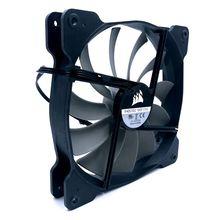 Ventilador de refrigeração silencioso A1425L12S 2 140mm, 140*140*25mm dc12v 0.30a (corrente avaliada 0.18a) ventilador de refrigeração do caso do computador 870rpm
