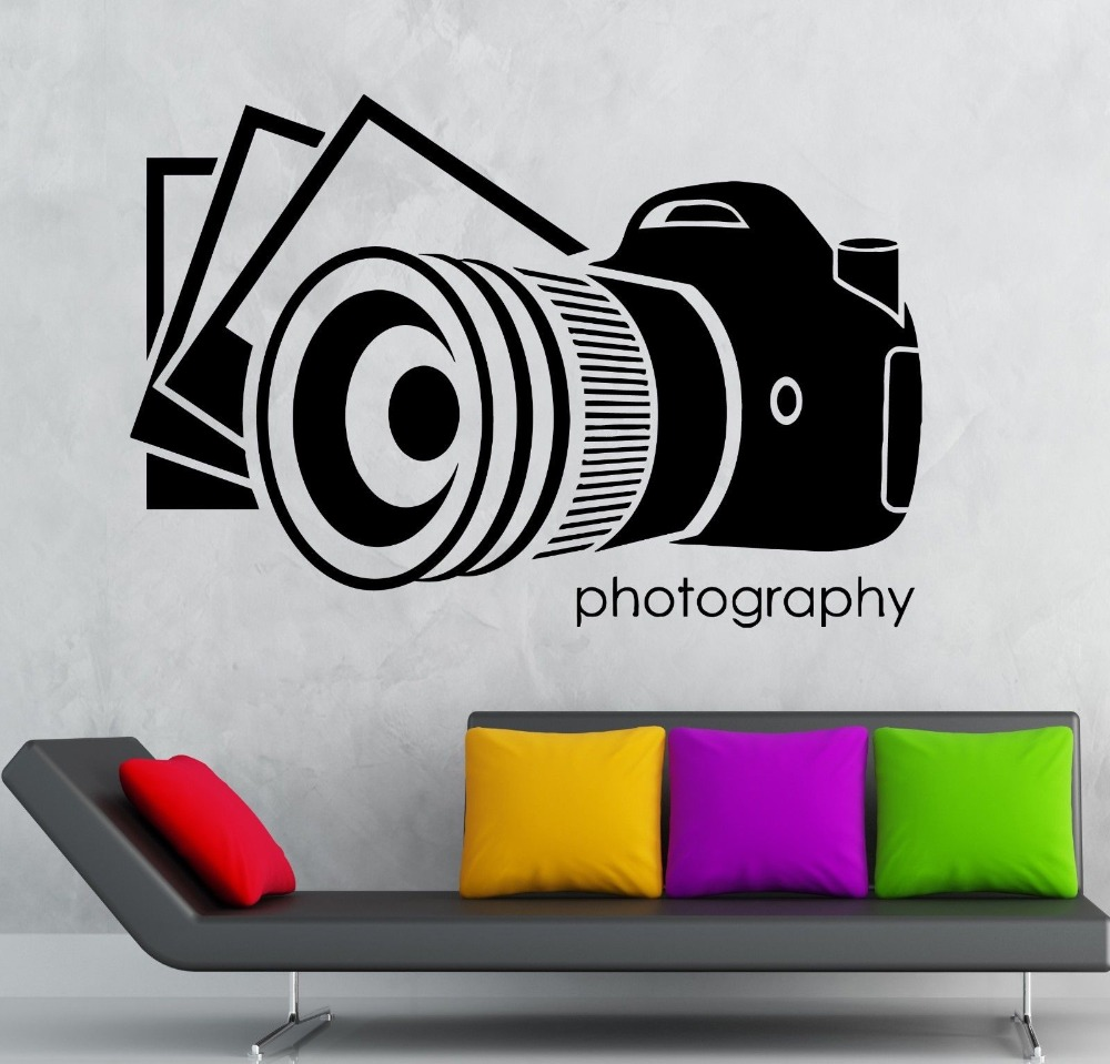 hot selling photographs art design vinyl wall sticker home