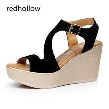 Summer Women Shoes Platform Sandals Sexy Wedges Women Sandals Fashion Shoes High Heels Sandalias Mujer High Quality Size 34-43 цены онлайн