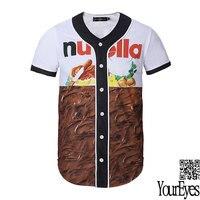Lato hot sprzedaż fajne chocolate 3d drukowane t shirt moda zwierząt t-shirt kreatywny nowość projekt kamuflaż/cat/lew mężczyźni t shirt