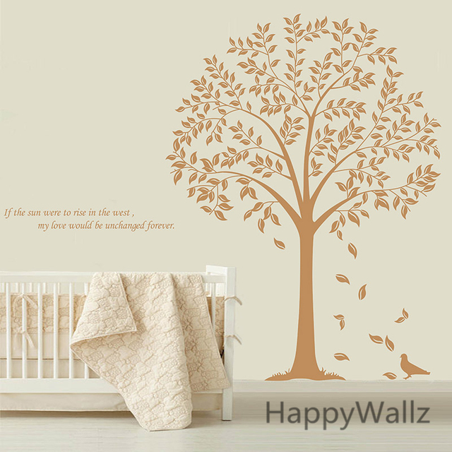 Family Tree Wall Stickers Tree Wall Decal Removable Vinyl Wall Art ...