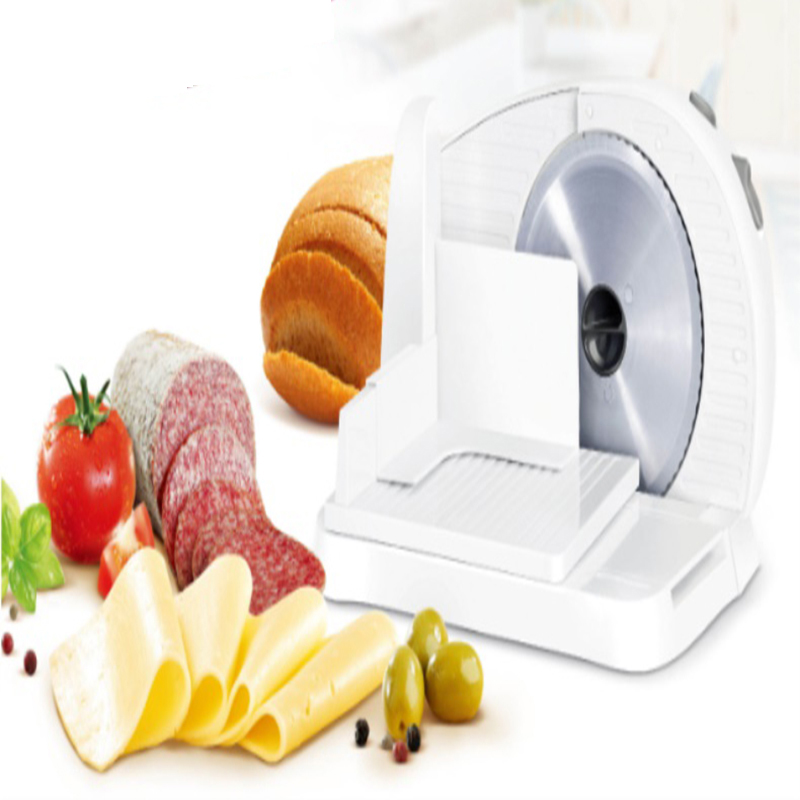 Household Mini Electric Meat Slicer Electric Automatic Frozen Meat Mincer Beef Lamb Potato Slices Toast Cutter 100W