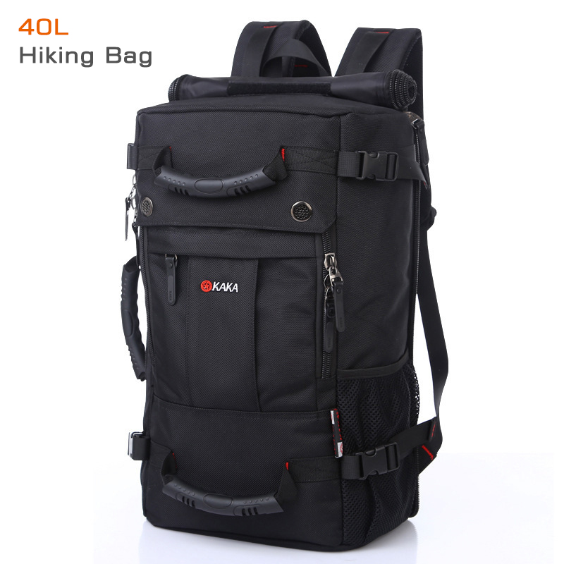 40 L High-capacity Oxford Waterproof Laptop Backpack Multifunctional Travel Bag Mochila School Bag Hiking Luggage Bag KAKA