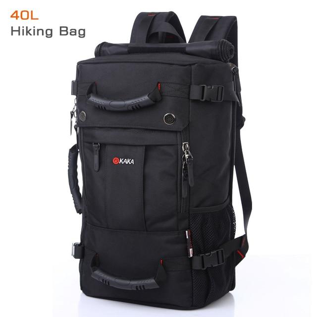 40 L High capacity Oxford Waterproof Laptop Backpack Multifunctional Travel Bag Mochila School bag Hiking Luggage Bag KAKA