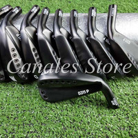 Golf Irons black 0311p gen2 forged golf iron Golf Clubs 4 9WG R S Flex Steel Shaft With Head Cover