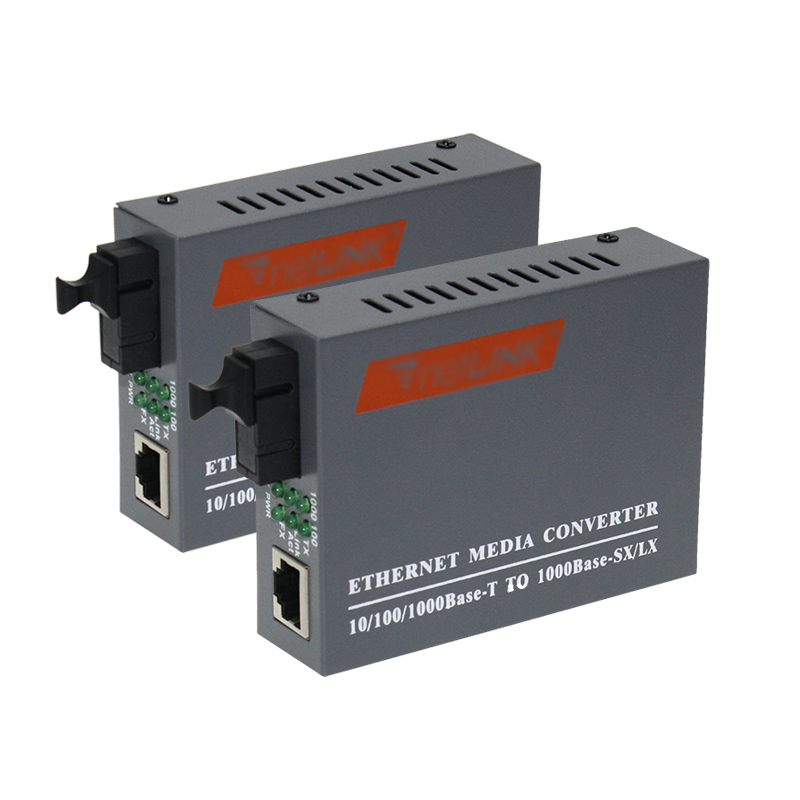 1.25G fiber media converter gigabit ethernet media converter fiber converter fiber optical transceiver 1 pair