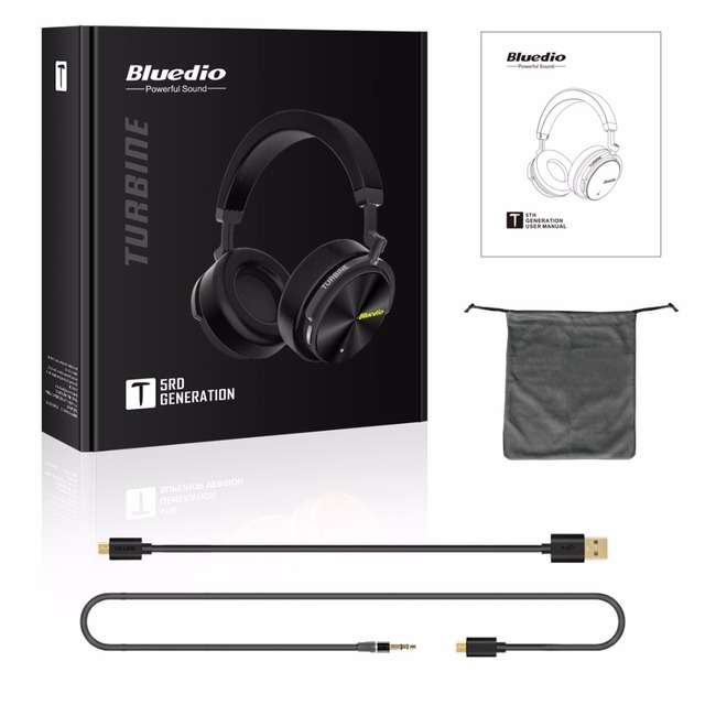 Bluedio T5 Wireless Bluetooth 4