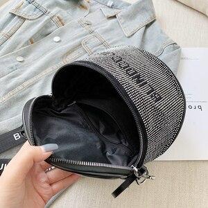 Image 5 - Bandolera pequeña de cuero de moda para mujer, bolso de hombro grande, ייי