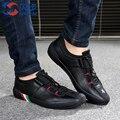 2016 Новых Мужчин Обувь Повседневная Обувь для Мужчин мужская Мода Дышащая Обувь Высокого Качества, босоножки, Мужская обувь на Плоской Размер обуви 39-44