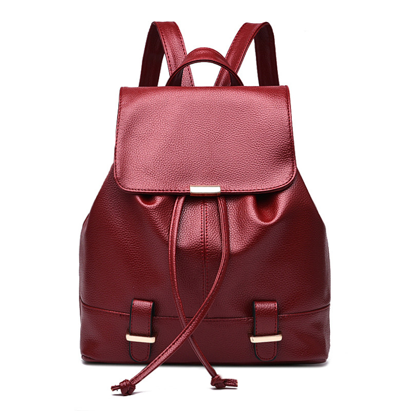 cf67f93fd9 New Mini Leather Backpack for Girls Small Cute Backpacks for .