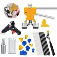 DIY Car Body Paintless Dent Repair Remover   Tools   Paintless Dent Removal Puller Dent Lifter Kits Puller Lifter