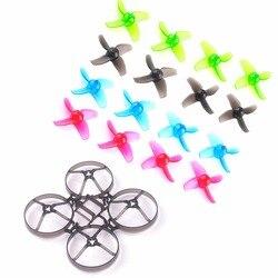 Mobula7 V2 śmigła ramowe 40mm kolorowe śmigła do 75mm Bwhoop75 bezszczotkowe BWhoop Mobula 7 FPV Racing Drone zdalnie sterowany quadcopter