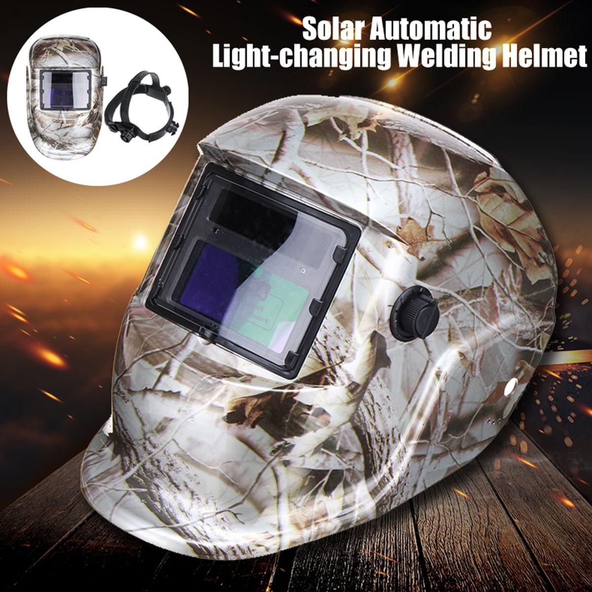 Solar Automatic Light Change Welding Helmet Arc Tig Mig Mask Electric Welding Mask for Welding Machine