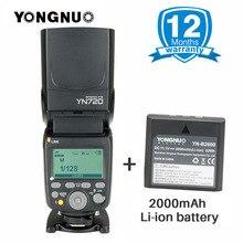 Mais recente Bateria De Lítio YN720 Speedlight YONGNUO Flash Speedlite com Bateria Li-ion bateria afor Canon Nikon Pentax