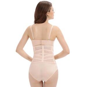 Image 4 - הרזיה חגורת slim tummi shaper מחוך דוגמנות רצועת מותניים ומעצב מחוך לנשים חגורות bodi shaper דק מותניים בטן shaper