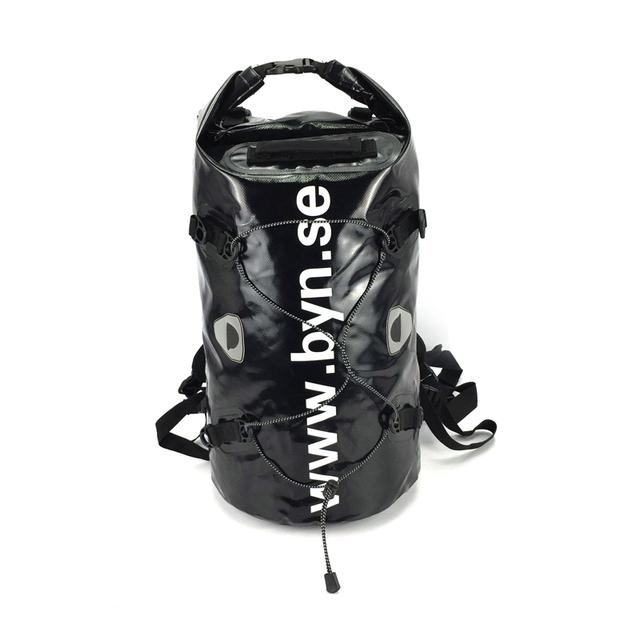 50L 500D PVC lona Versátil Negro seca Extraíble Portátil bolsa/mochila bolsa impermeable PVC TB0057 de las