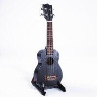 DIDUO 21 Inch 15 Frets Mini Sapele Dolphin Pattern Ukulele Rosewood Fingerboard 4 Strings Guitarra