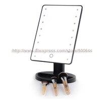 Профессиональный Smart Touch Сенсор 16 LED Макияж зеркало столик на одной стороне косметическое зеркало и 10 шт./лот DHL/FedEx/ EMS Бесплатная доставка