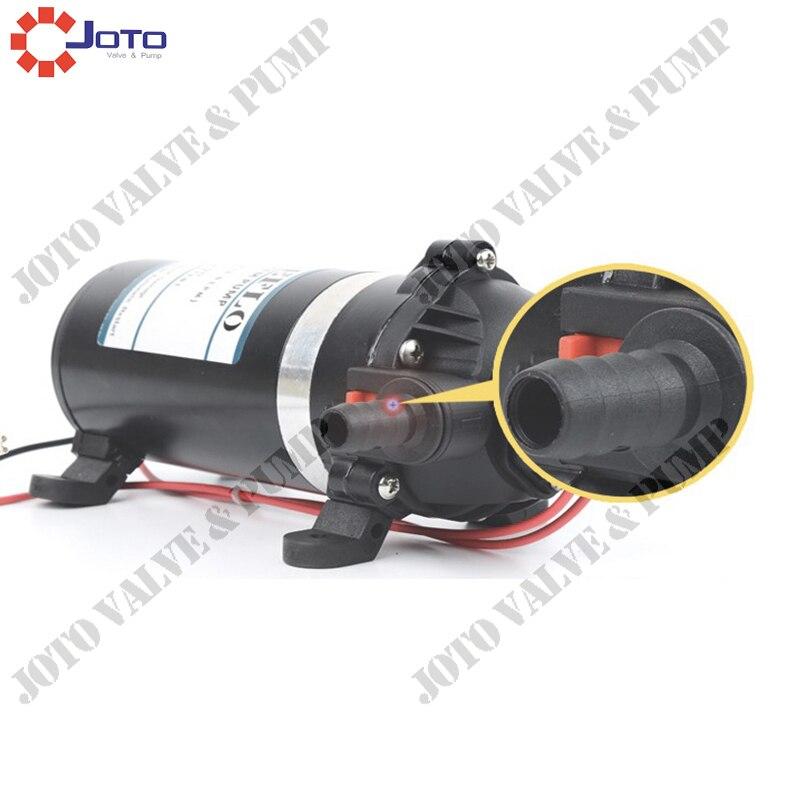DP-80 12/24V High Pressure 80psi Diaphragm Pump For Car Washing цена и фото