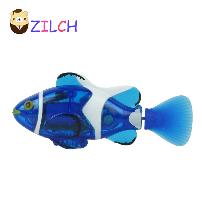 Waterproof Novelty infrared remote control fish charging simulation electric clown fish  ...