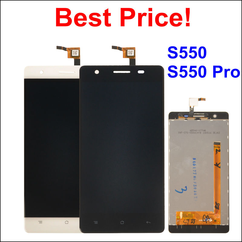 LCD Display Digitizer Touch Screen Assembly For CUBOT S550 CUBOT S550 PRO Cellphone 5 5 Black