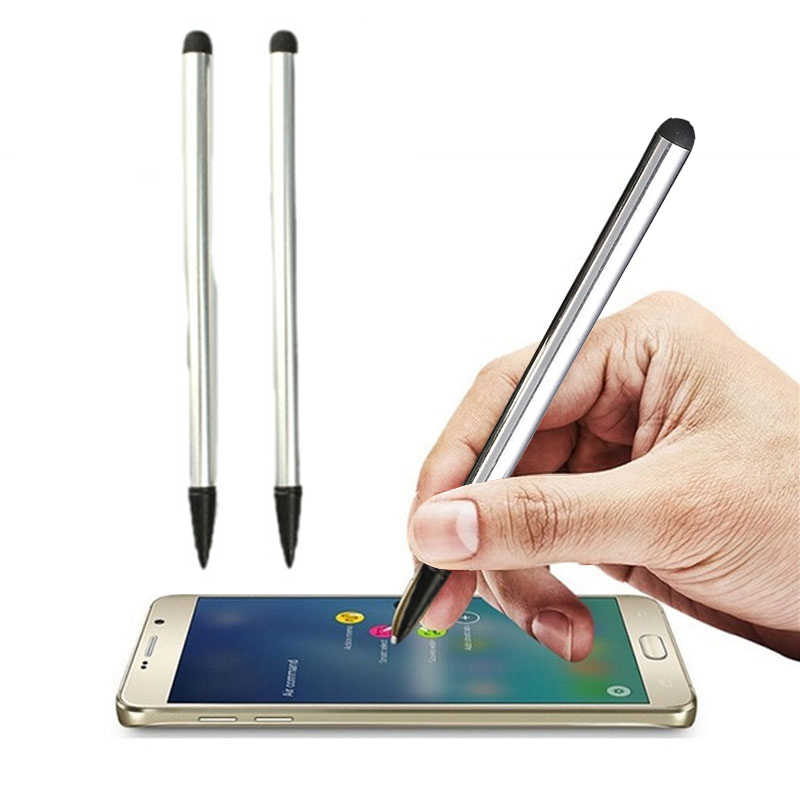 Touch Screen Pen Stylus Universal For iPhone Samsung Smart Mobile Phone Silver
