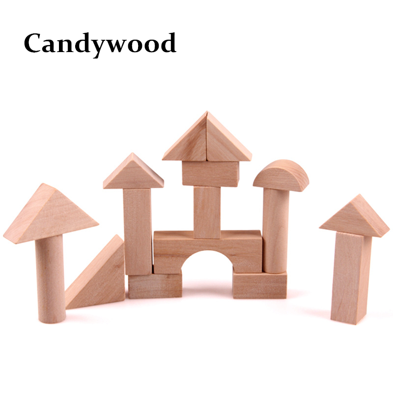 16Pcs Wooden Blocks cube Building Blocks Early educational toys Assemblage block Kids toys Wholesale dayan gem vi cube speed puzzle magic cubes educational game toys gift for children kids grownups