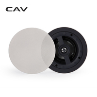 CAV HT 45 In Ceiling Speaker Home Theater System Background Music Deep Bass