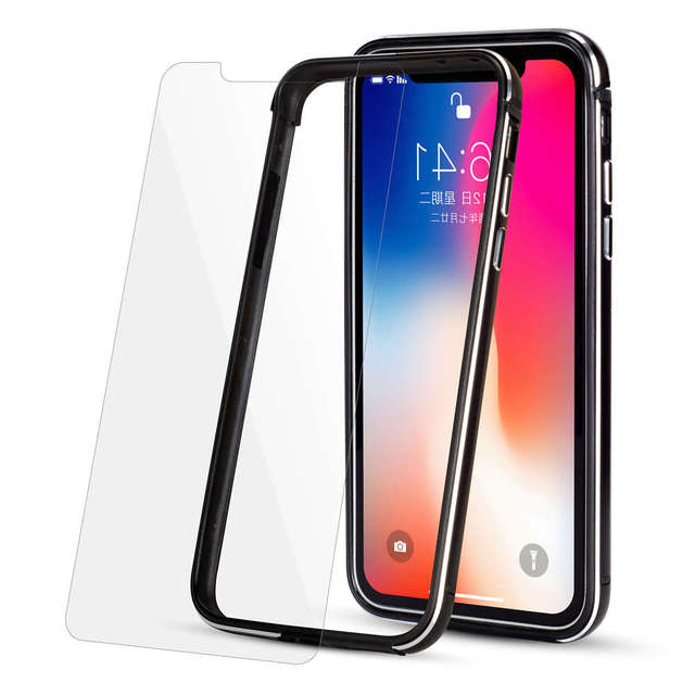 competitive price eca00 1258b US $10.64  Aluminum Bumper Case (NO Back) for iPhone X 8 7 6s Plus  UltraThin Metal Frame Silicon Hybrid Cover for iPhoneX (10) 5.8inch Case-in  Phone ...