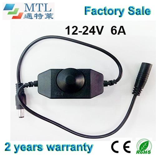 LED rəngli dimmer nəzarətedicisi 12-24V / 6A, 50 ədəd / çox, - İşıqlandırma aksesuarları - Fotoqrafiya 1