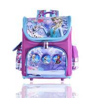 Girls Cartoon Backpack School Bag Cute Lovely Orthopedic Children Schoolbag Anna Elsa Girls Quality Backpack Mochila Infantil