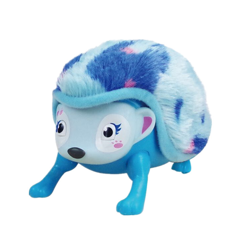 Robot Hedgehog Electronic Hedgehog Toys Interactive Animal Pet Creep Laugh Somersault Cute Toys For Children Birthday Gifts
