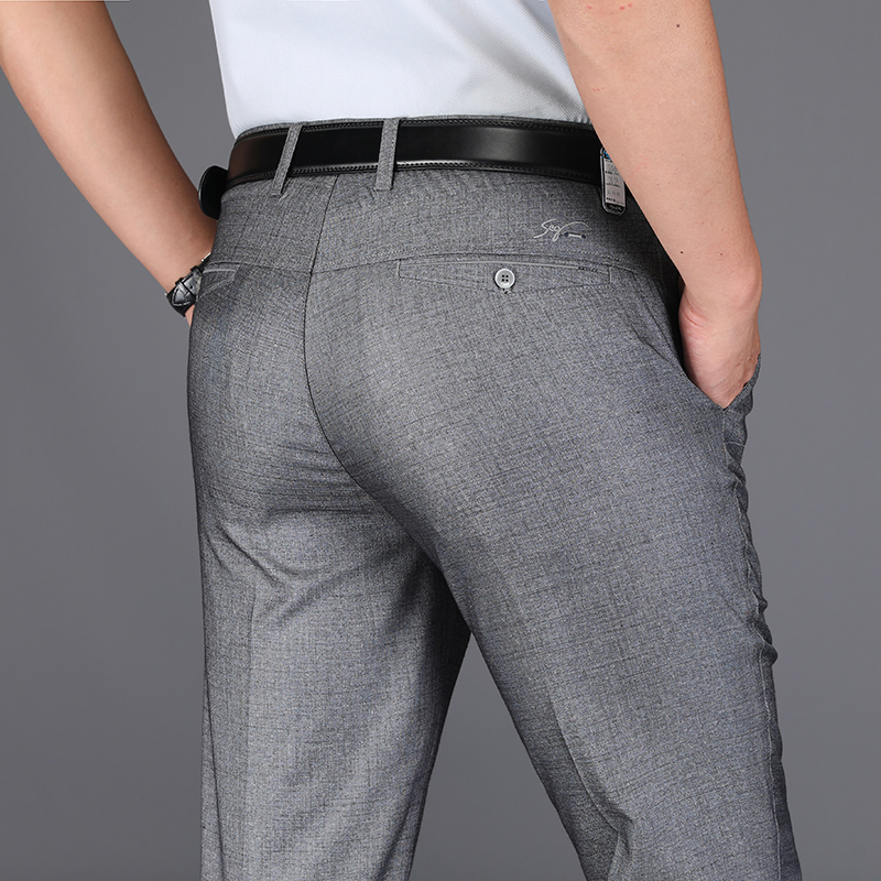 Male Jeans Men Men'S Classic Vetement Peto Vaquero Hombre Biker Homme Marque De Luxe Pants Slim Fit Straight Summer Trousers