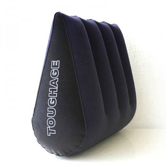 Sex Pillow TOUGHAGE Magic Triangle Pillow Sexy Versatile Inflatable Cushion Erotic Toys Adult Sex Furniture Toys For Couples